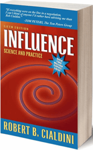 robert cialdini book titled influence: science and practice